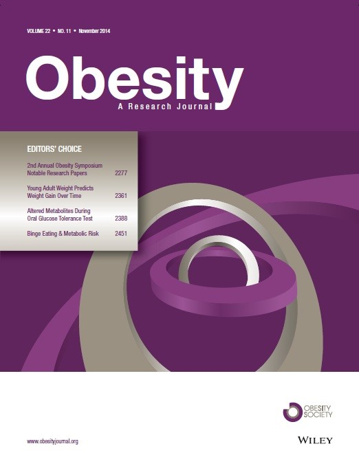 Obesity Journal cover