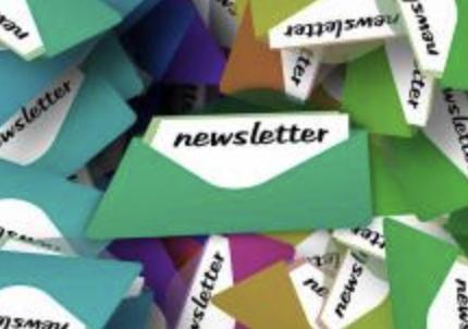 newsletter in envelope